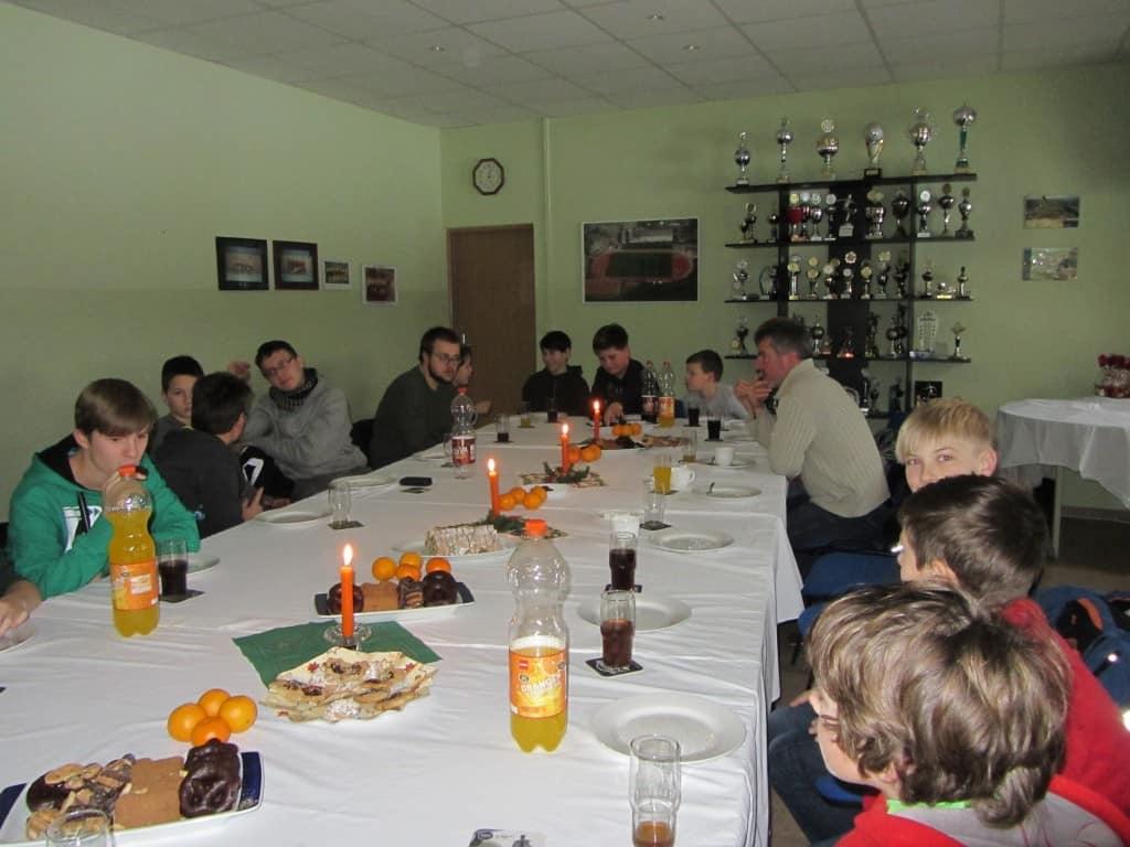 Weihnachtsfeier 2013 der Kinder- und Jugendgruppe